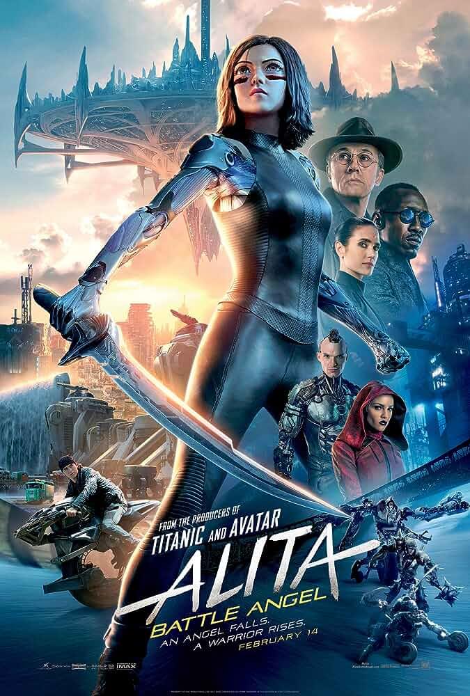 Download Alita: Battle Angel (2019) Full Movie In Hindi-English (Dual Audio) Bluray 480p [440MB] | 720p [1.2GB] | 1080p [2.6GB]