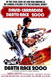Death Race 2000 (1975) Poster - Movie Forum, Cast, Reviews