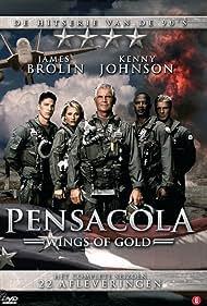 James Brolin, Sandra Hess, Bobby Hosea, Kenny Johnson, and Michael Trucco in Pensacola: Wings of Gold (1997)