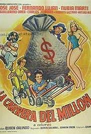 La carrera del millón Poster