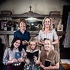 Ashly Covington, Maria Olsen, Sylvia Panacione, Melanie Cruz, Milly Sanders, and Brittany Samson in The Daughters of Virtue (2017)