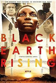 John Goodman, Noma Dumezweni, Michaela Coel, and Emmanuel Imani in Black Earth Rising (2018)
