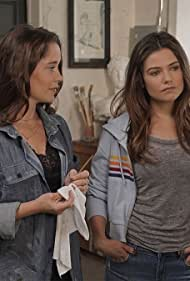 Marguerite Moreau and Danielle Campbell in Tell Me a Story (2018)