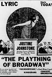 The Plaything of Broadway Poster