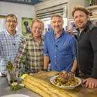 Jon Culshaw, James Martin, Stephen Hendry, and Daniel Galmiche in Saturday Morning with James Martin (2017)