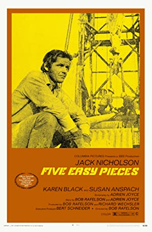 Where to stream Five Easy Pieces