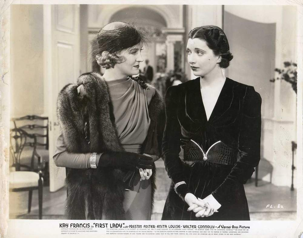 Kay Francis and Verree Teasdale in First Lady (1937)