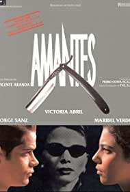 Victoria Abril, Jorge Sanz, and Maribel Verdú in Amantes (1991)