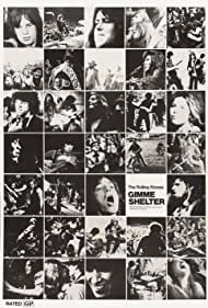 Mick Jagger, Michael Lang, Keith Richards, Grace Slick, Mick Taylor, Tina Turner, Charlie Watts, Bill Wyman, and The Rolling Stones in Gimme Shelter (1970)