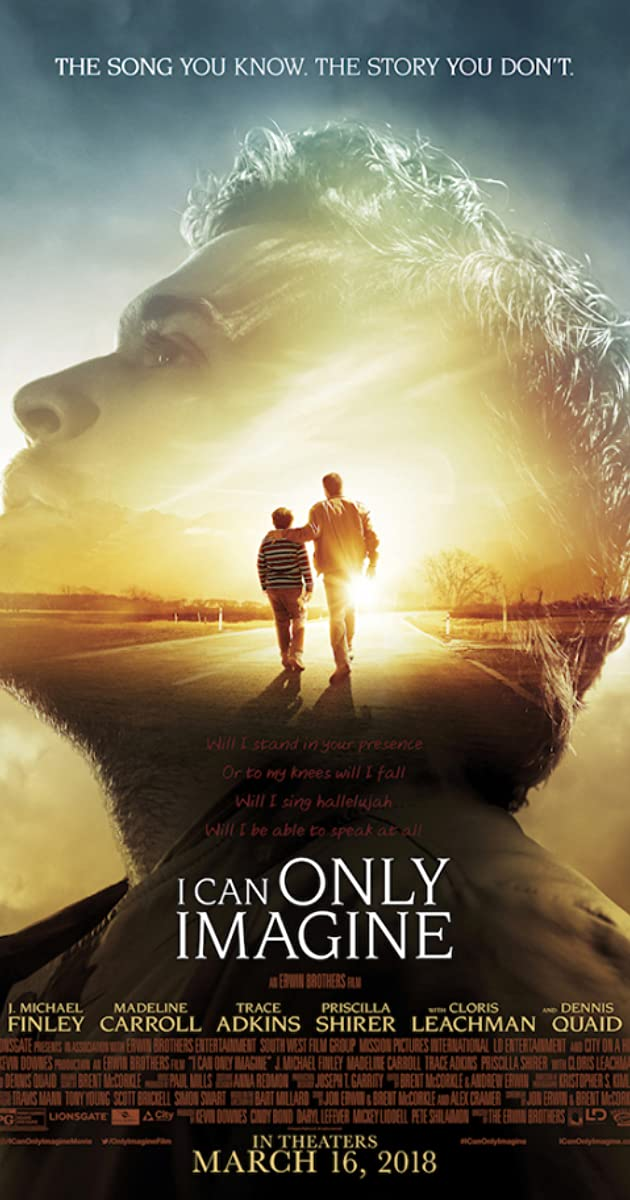 Image result for i can only imagine movie poster