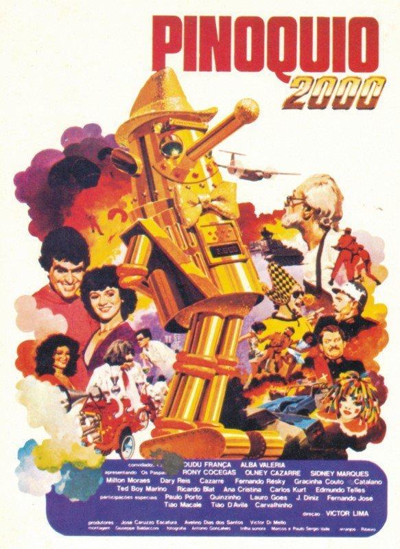 Os Paspalhões em Pinóquio 2000 (1980)