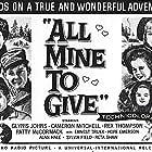 Tom Nolan, Glynis Johns, Patty McCormack, Cameron Mitchell, Jon Provost, Rex Thompson, Yolanda White, and Stephen Wootton in All Mine to Give (1957)