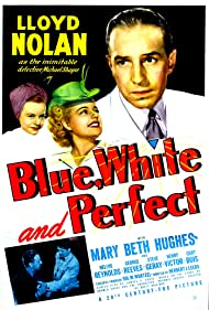 George Reeves, Mary Beth Hughes, Lloyd Nolan, and Helene Reynolds in Blue, White and Perfect (1942)