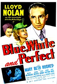 Blue, White and Perfect Poster