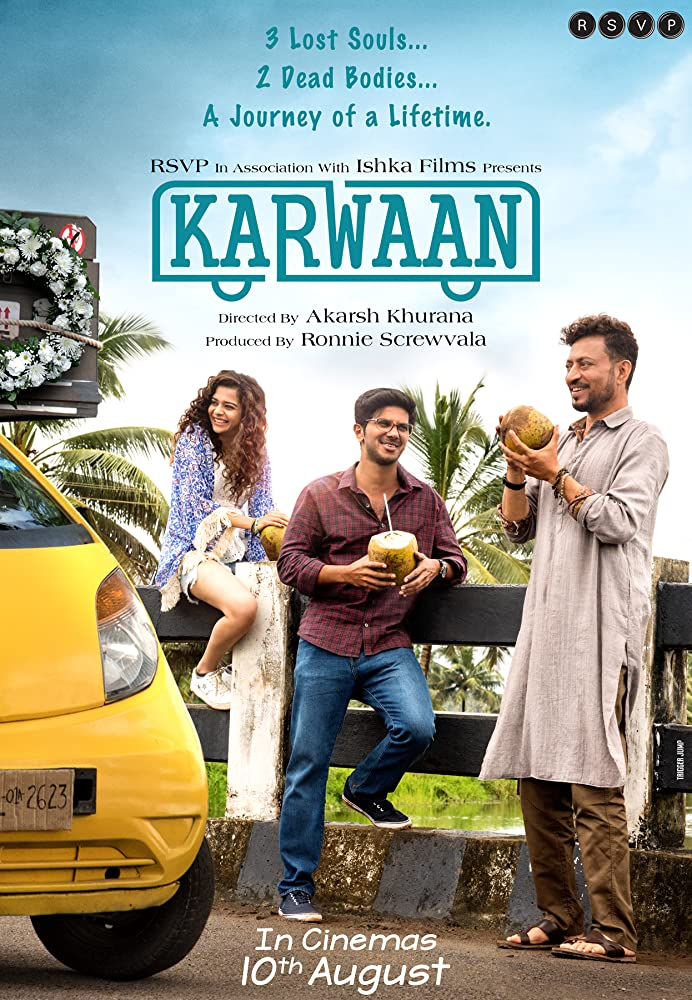 Karwaan 2018 Hindi HDRip 400MB MKV