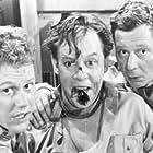 Paul Hagen, Preben Kaas, and Louis Miehe-Renard in Soldaterkammerater på vagt (1960)