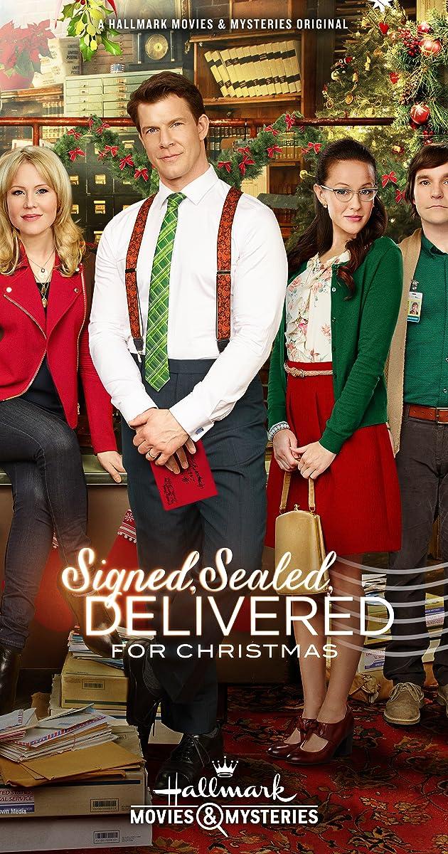 Subtitle of Signed, Sealed, Delivered for Christmas