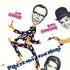 Jack Lemmon, Romy Schneider, and Dorothy Provine in Good Neighbor Sam (1964)