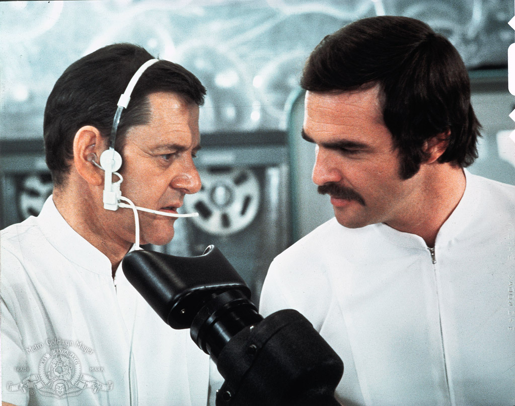 Burt Reynolds and Tony Randall in Everything You Always Wanted to Know About Sex * But Were Afraid to Ask (1972)
