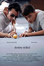 """""""Robert Glen Keith (left) and Brian Sites (right) in """"Destiny Stalled"""""""