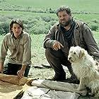 Abraham Benrubi and Diego Luna in Open Range (2003)
