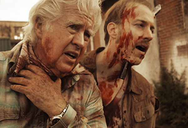 Kloo Gulager and Tom Gulager in Feast III: Happy Finish (2009)
