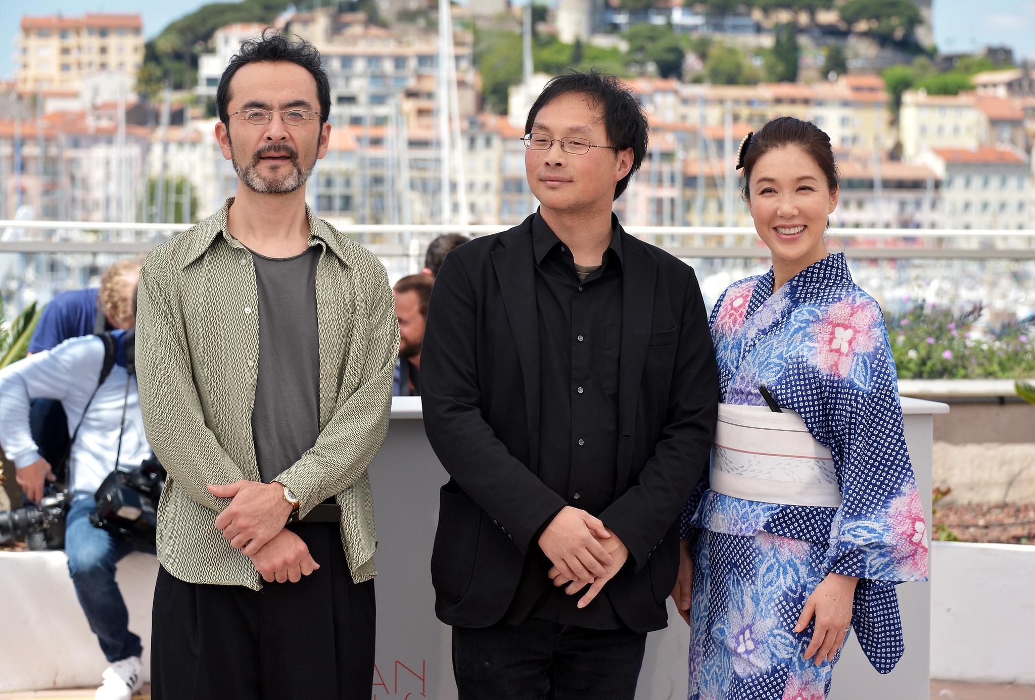 Mariko Tsutsui, Kanji Furutachi, and Kôji Fukada