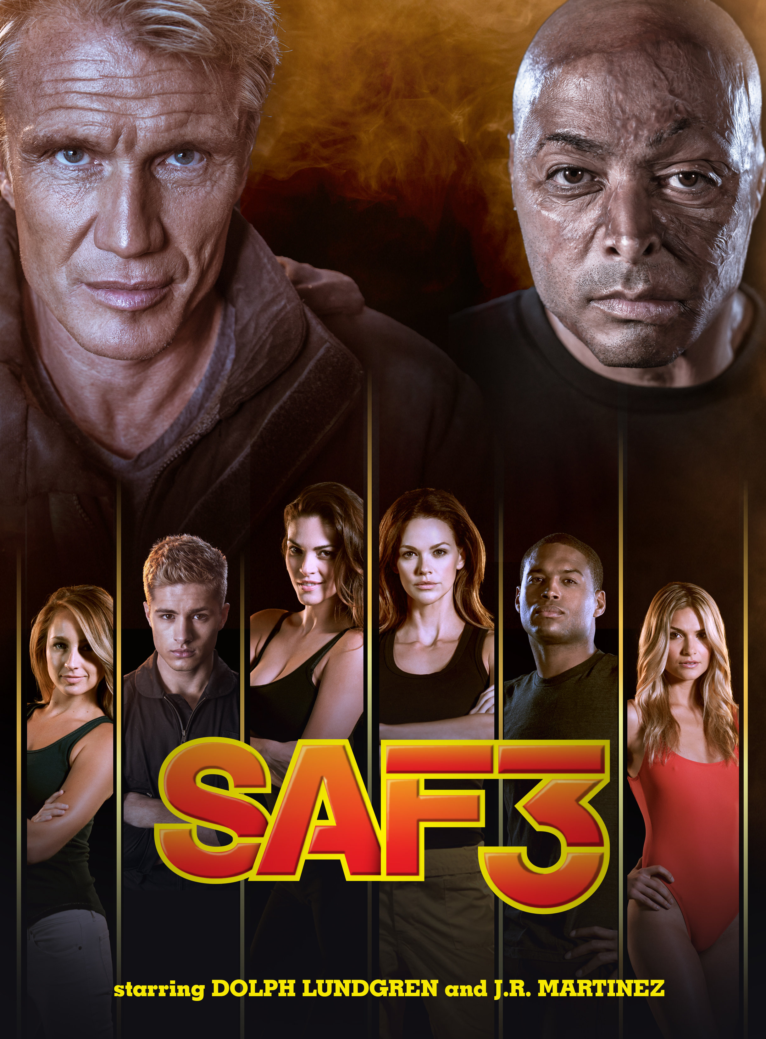 """SAF3 (pronounced """"safe"""") is a syndicated action adventure series starring Dolph Lundgren and J.R. Martinez"""