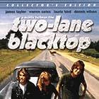 Warren Oates, James Taylor, and Dennis Wilson in Two-Lane Blacktop (1971)