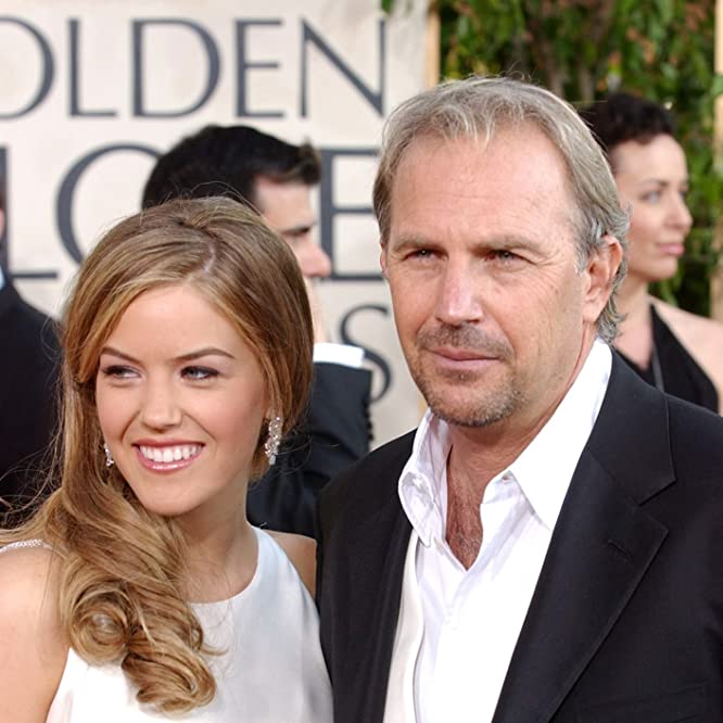 Kevin Costner and Lily Costner