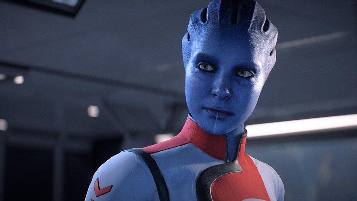 Natalie Dormer in Mass Effect: Andromeda (2017)