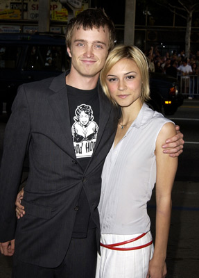 Aaron Paul and Samaire Armstrong at an event for Windtalkers (2002)
