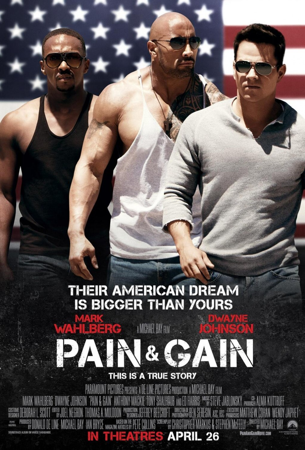 Image result for Pain & Gain poster