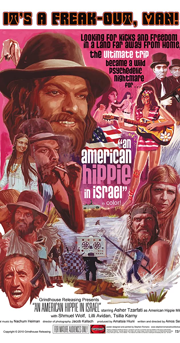 Subtitle of An American Hippie in Israel