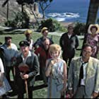 Spencer Tracy, Peter Falk, Milton Berle, Mickey Rooney, Buddy Hackett, Jonathan Winters, Edie Adams, Eddie 'Rochester' Anderson, Sid Caesar, Ethel Merman, Dorothy Provine, Dick Shawn, and Phil Silvers in It's a Mad Mad Mad Mad World (1963)