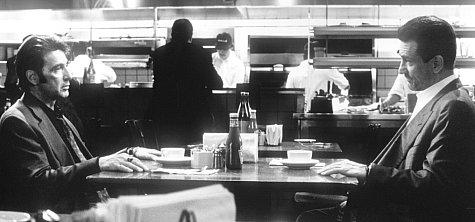 Robert De Niro and Al Pacino in Heat (1995)