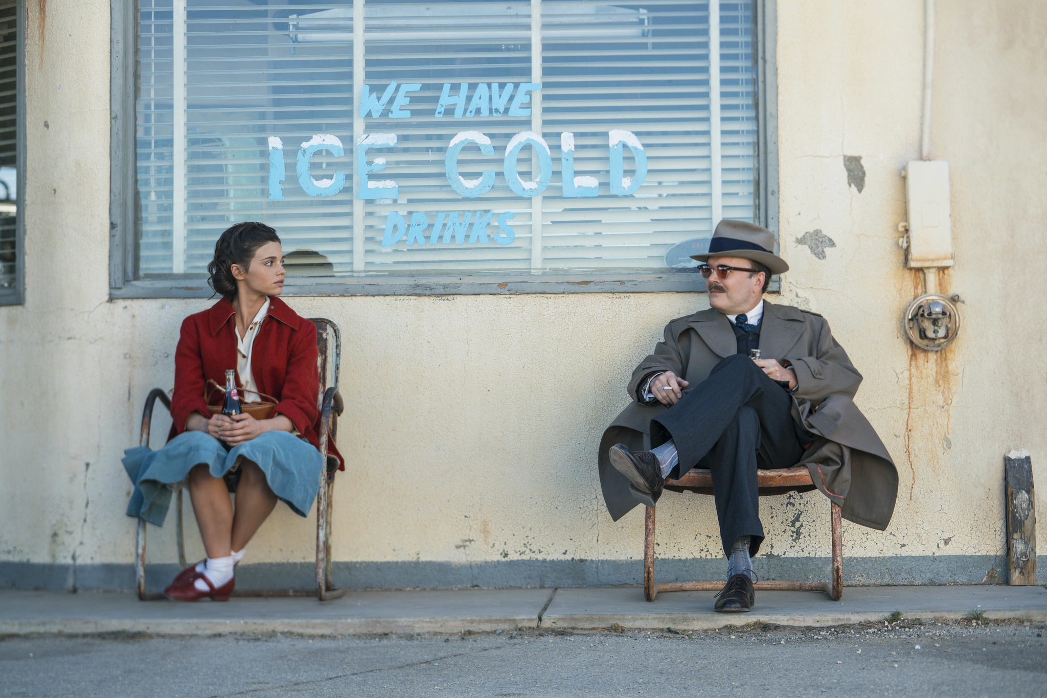 Jefferson Mays and India Eisley in I Am the Night (2019)