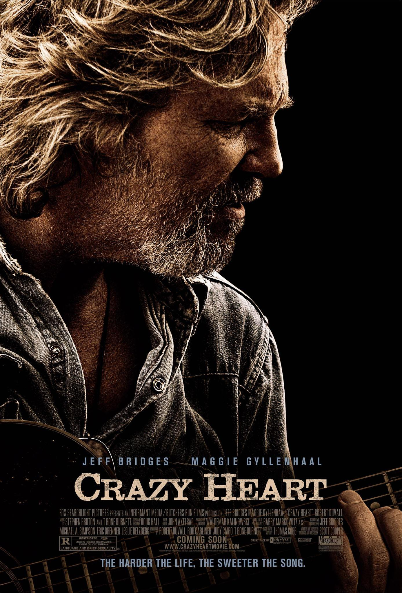 Crazy Heart (2009) BluRay 480p, 720p & 1080p