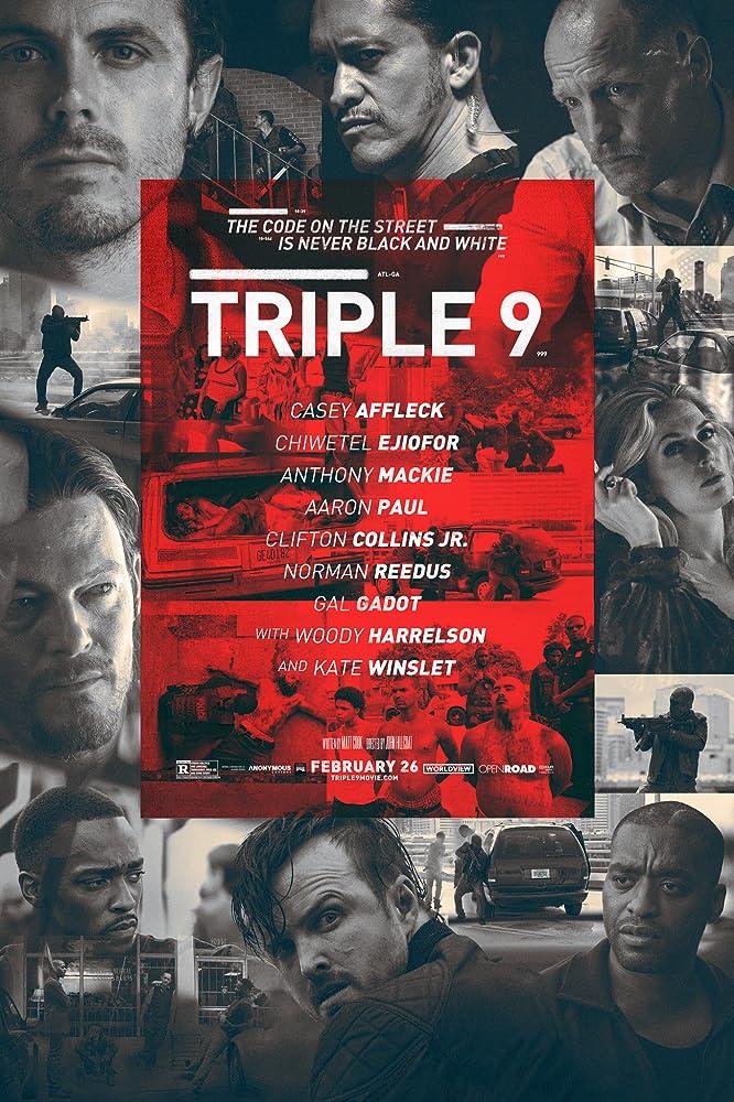 Poster film Triple 9