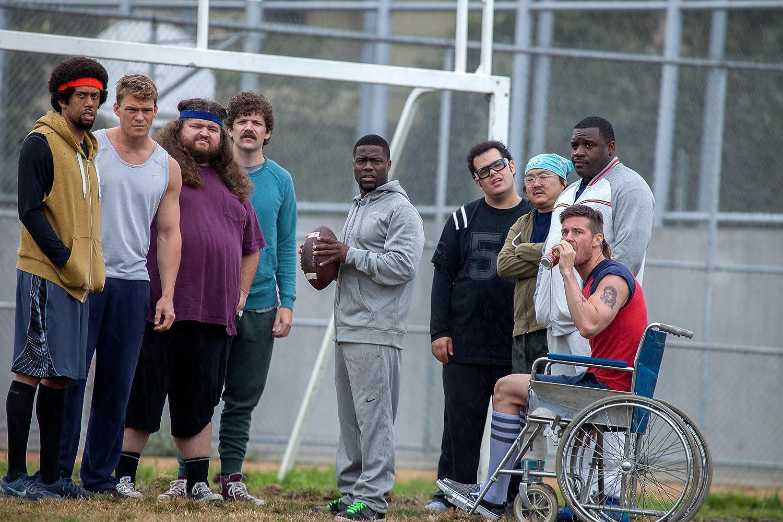 Jorge Garcia, Kevin Hart, Aaron Takahashi, Josh Gad, Alan Ritchson, Dan Gill, and Colin Kane in The Wedding Ringer (2015)