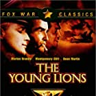 Marlon Brando, Montgomery Clift, Dean Martin, and May Britt in The Young Lions (1958)