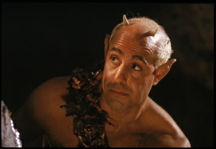Stanley Tucci stars as Puck