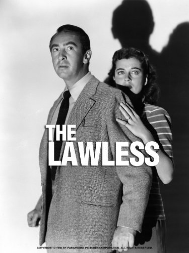 Macdonald Carey and Gail Russell in The Lawless (1950)