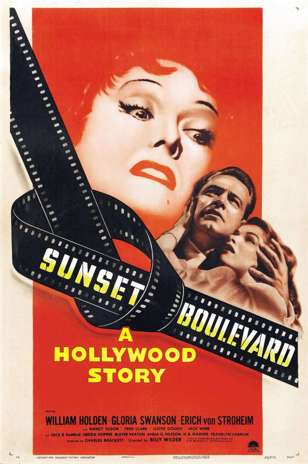 Image result for sunset boulevard poster images