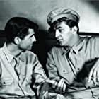 Robert Mitchum and George Cooper in Crossfire (1947)