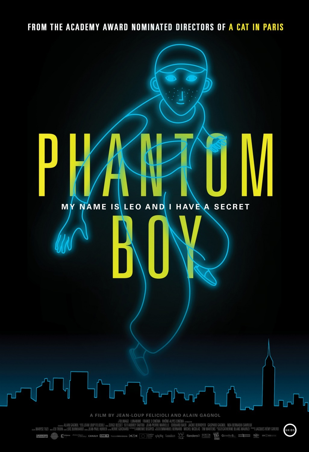 Image result for phantom boy poster