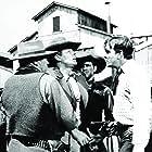 Errol Flynn, James Brown, and Ian MacDonald in Montana (1950)