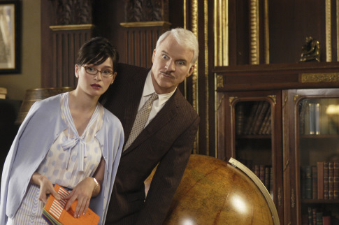 Steve Martin and Emily Mortimer in The Pink Panther (2006)