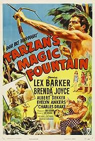 Lex Barker and Brenda Joyce in Tarzan's Magic Fountain (1949)