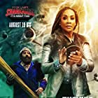 Vivica A. Fox and Judah Friedlander in The Last Sharknado: It's About Time (2018)
